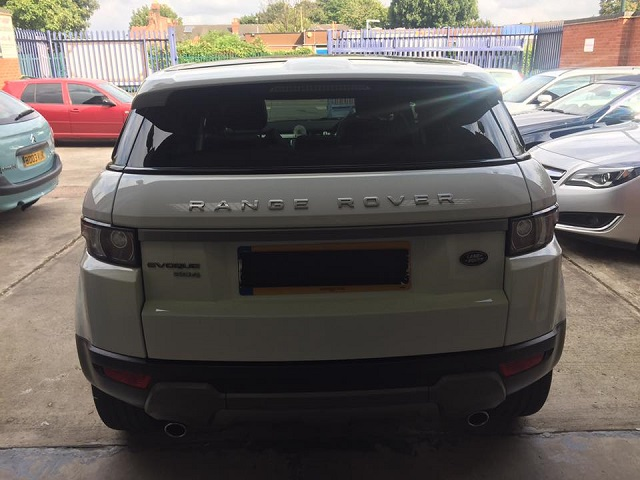 Land Rover Window Tinting