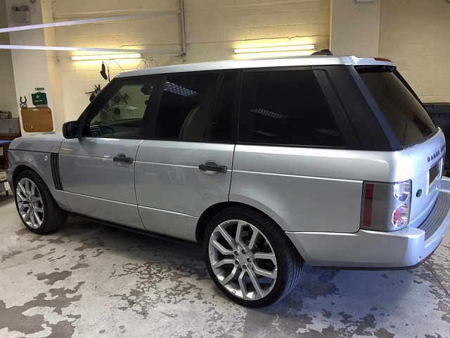 Land Rover Tinted Windows
