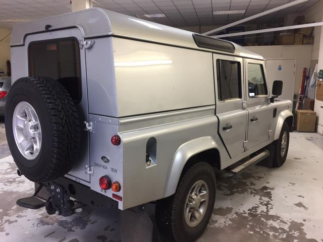 Land Rover Defender Tinted Windows