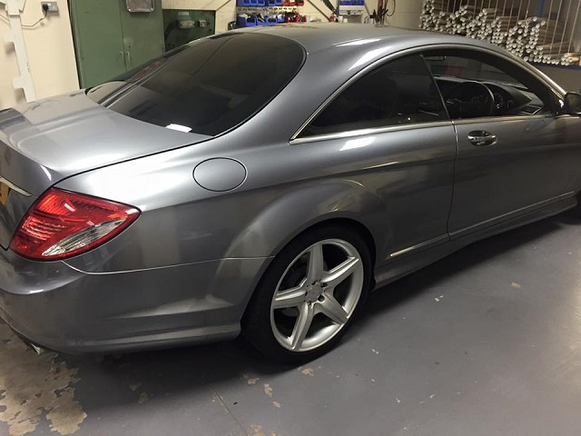Mercedes Tinted Windows