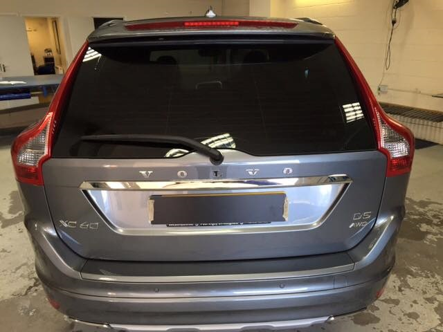 Volvo Window Tinting