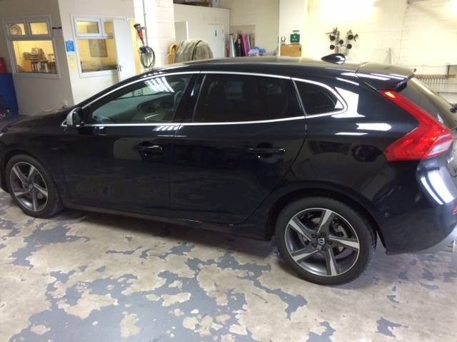 Volvo Car Window Tinting