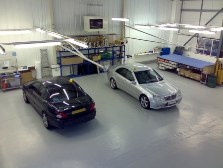 Birmingham Window Tinting Workshop